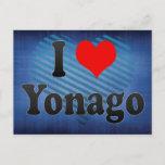 I Love Yonago, Japan. Aisuru Yonago, Japan Postcard