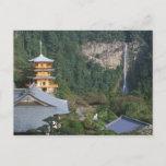 Asia, Japan, Wakayama, Katsuura, Kumano Nachi Postcard