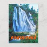 Salto Lemon Falls Dominicana Postcard