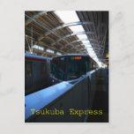 Tsukuba express JAPAN Postcard