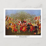 One Hundred Years Of Freedom,  By Rousseau Henri Postcard