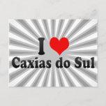 I Love Caxias do Sul, Brazil Postcard