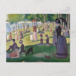 A Sunday on La Grande Jatte by Seurat Postcard