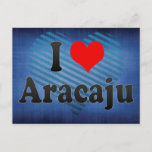 I Love Aracaju, Brazil. Eu Amo O Aracaju, Brazil Postcard