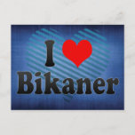 I Love Bikaner, India. Mera Pyar Bikaner, India Postcard