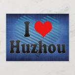 I Love Huzhou, China Postcard