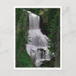 Udine Falls, Yellowstone Park, Wyoming Postcard