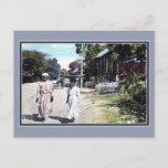Vintage ca 1900 Port Au Prince Haiti Postcard
