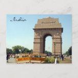 india gate police postcard