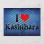 I Love Kashihara, Japan. Aisuru Kashihara, Japan Postcard