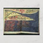 Exploration map of Surat Postcard
