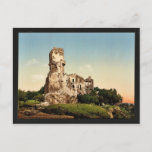 Chateau de Tournoel, Clermont-Ferrand, France vint Postcard