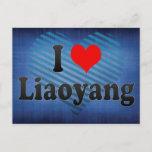 I Love Liaoyang, China. Wo Ai Liaoyang, China Postcard