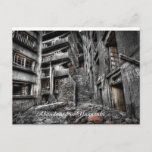 Abandoned Building in Japan postcard