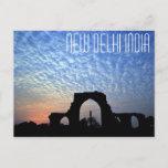 New Delhi India Iron Pillar postcard