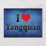 I Love Yangquan, China Postcard