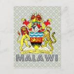 Malawi Coat of Arms Postcard