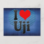 I Love Uji, Japan. Aisuru Uji, Japan Postcard