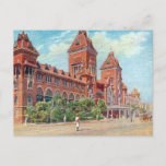 Old Postcard - Madras (Chennai), India