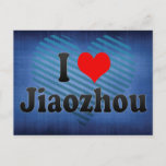 I Love Jiaozhou, China. Wo Ai Jiaozhou, China Postcard
