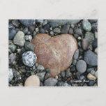 Beach Heart Postcard