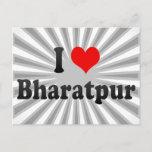 I Love Bharatpur, India Postcard