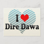 I Love Dire Dawa, Ethiopia Postcard