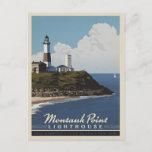 Montauk Point Lighthouse,  LongIsland NY Postcard