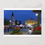 City festival postcard