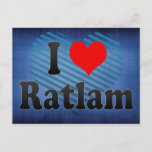 I Love Ratlam, India. Mera Pyar Ratlam, India Postcard