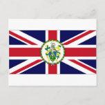 Pitcairn Islands Governor Flag Postcard