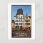 Trier - Hauptmarkt Stone Cross Postcard