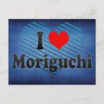 I Love Moriguchi, Japan Postcard
