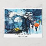 Chou Xing Hua Suzhou Scenery vintage chinese art Postcard