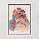 Jessie Willcox Smith - Meg, Jo, Beth and Amy Postcard