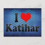 I Love Katihar, India. Mera Pyar Katihar, India Postcard