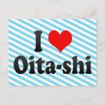 I Love Oita-shi, Japan. Aisuru Oita-Shi, Japan Postcard