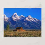 USA, Wyoming, Grand Teton National Park, Morning Postcard
