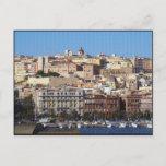 Cagliari, Sardinia, Italy (Canvas Effect) Postcard