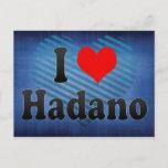 I Love Hadano, Japan Postcard