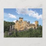 Koblenz, Germany, Stolzenfels Castle, Schloss Postcard