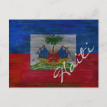 Flag of Haiti - Haitian Flag - Personalise Postcard