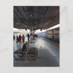 Platforms 2 and 3 of the Jodhpur train station Postcard