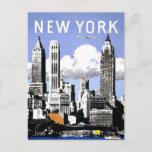 New York  Vintage Travel Postcard