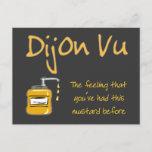 Dijon Vu Postcard