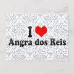 I Love Angra dos Reis, Brazil Postcard