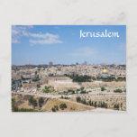 View of Jerusalem Old City, Israel Postcard