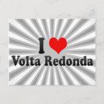 I Love Volta Redonda, Brazil Postcard