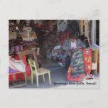 Jaffa Flea Market Photograph Postcard