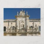 Italy, Puglia, Lecce, Piazza del Duomo, Palazzo Postcard